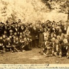 Reunion of 23rd Reg. OVI Willoughby. Summer 1878.