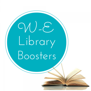 W-E Library Boosters Logo
