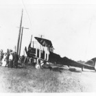 Airplane at Willoughbeach 1918
