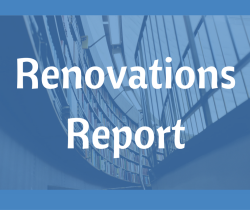 Renovations Report: 5/11