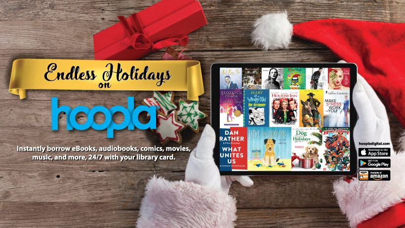 Holiday music on Hoopla