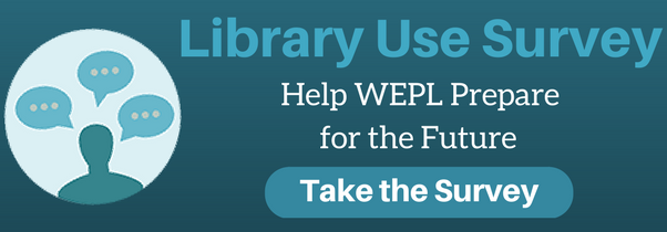 Library Use Survey Banner