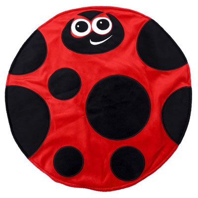 Weighted Lady Bug Lap Pad