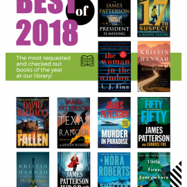 Most Borrowed Books of 2018
