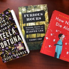 This May is a big month for new books.
