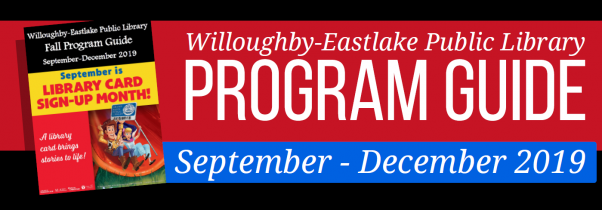 Fall 2019 PROGRAM GUIDE Banner