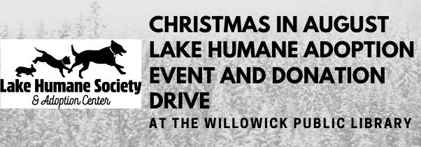 Christmas in August Lake Humane Adoption Event and Donation Drive