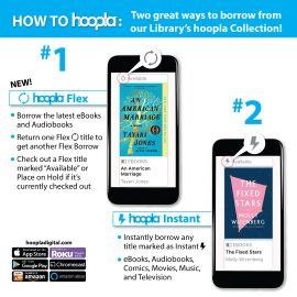 Announcing hoopla 2.0! Hot Music, Holiday Films, ebooks and More.