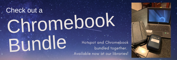 Check out a Chromebook Bundle from our libraries